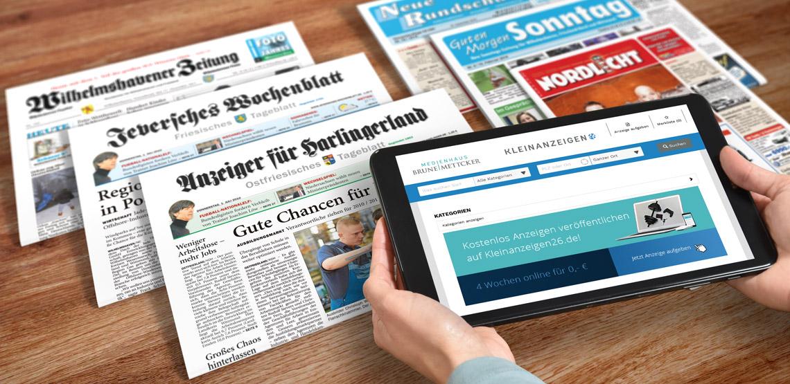 Anzeigen Lesen Und Schalten Anzeiger Fur Harlingerland